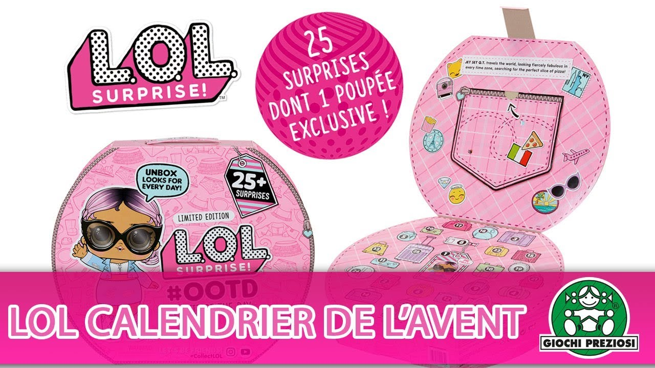 L.O.L Surprise / Calendrier de l'avent / Pub TV / Giochi France