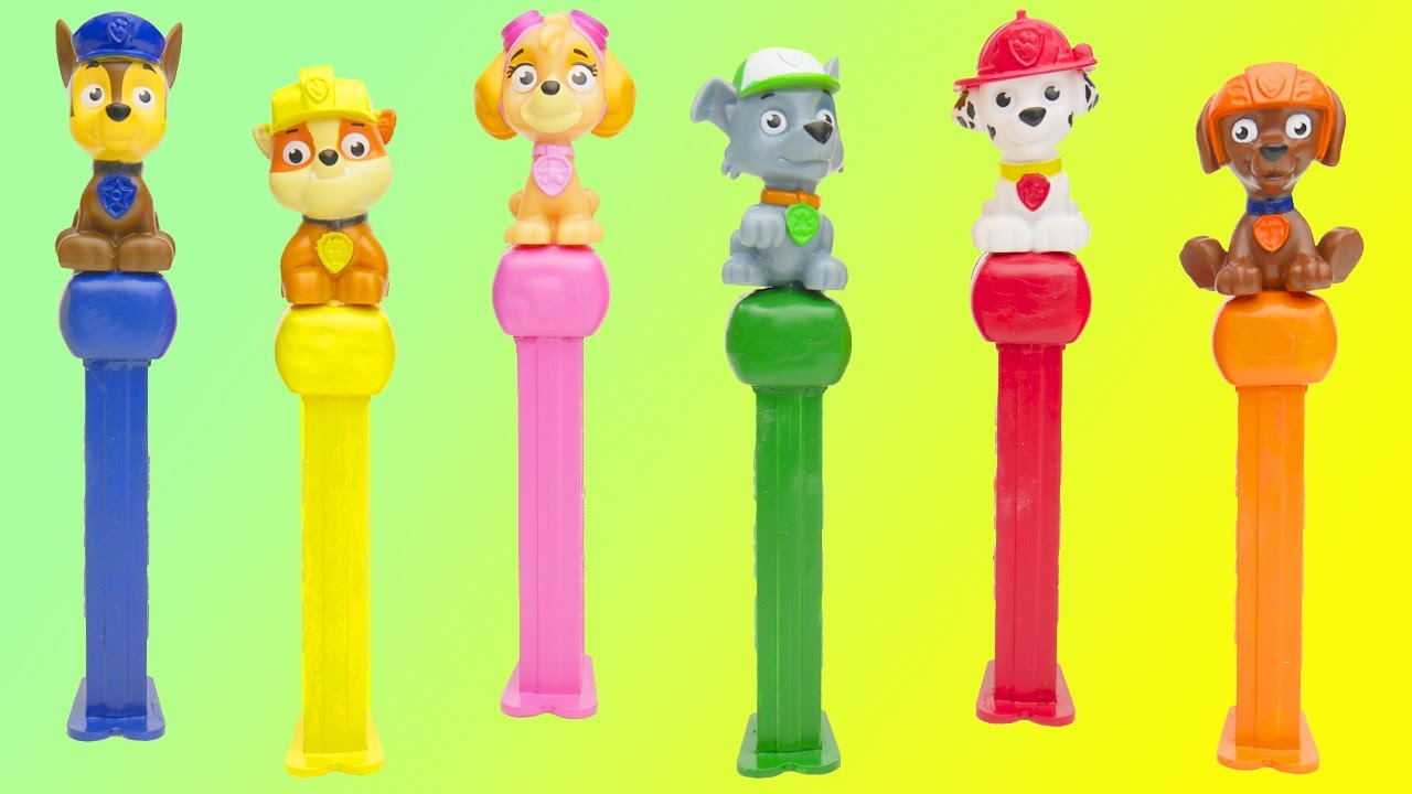 Best Learning Colors Video for Children with Paw Patrol - YouTube