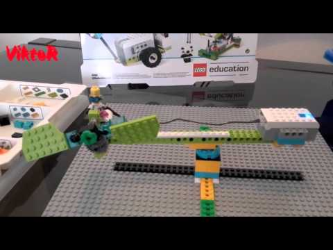 Lego Wedo 20 Airplane El Avin De Viktor Youtube