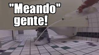 ORINANDO GENTE! | Bromas pesadas en el baño 2017