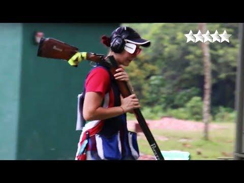 Shotgun Trap Women Individual Final 2018 FISU WUC Shooting Sport  Kuala Lumpur, Malaysia