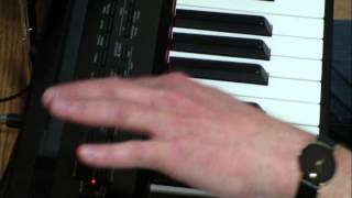 Casio Privia PX-350 - How to use the Song Recorder function