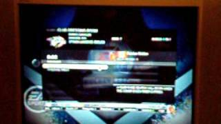 EA NHL 09 EA Sports Hockey League, problems connecting to matches....