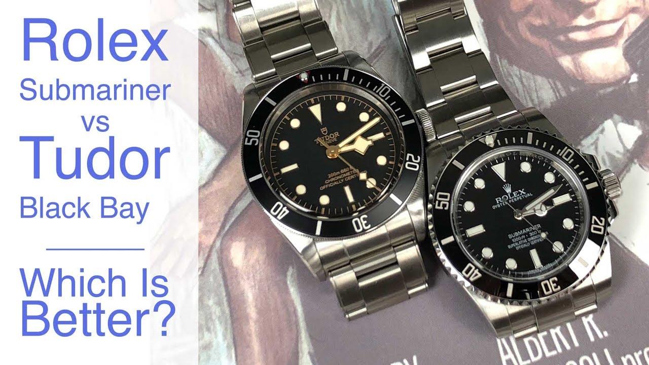Rolex Submariner V Tudor Black Bay Who Makes The Best Swiss Dive
