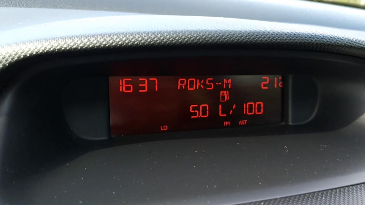 Peugeot 308, 120лс, 1.6 бензин, 2008 - расход топлива ...