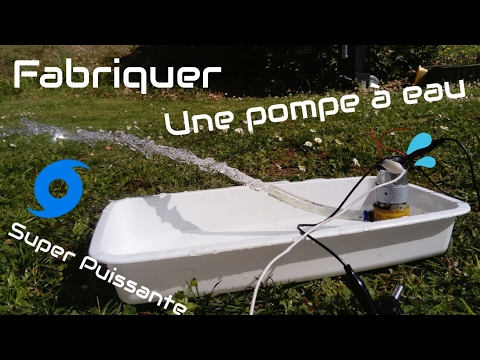 comment faire une pompe eau ultra puissante diy water pump youtube. Black Bedroom Furniture Sets. Home Design Ideas