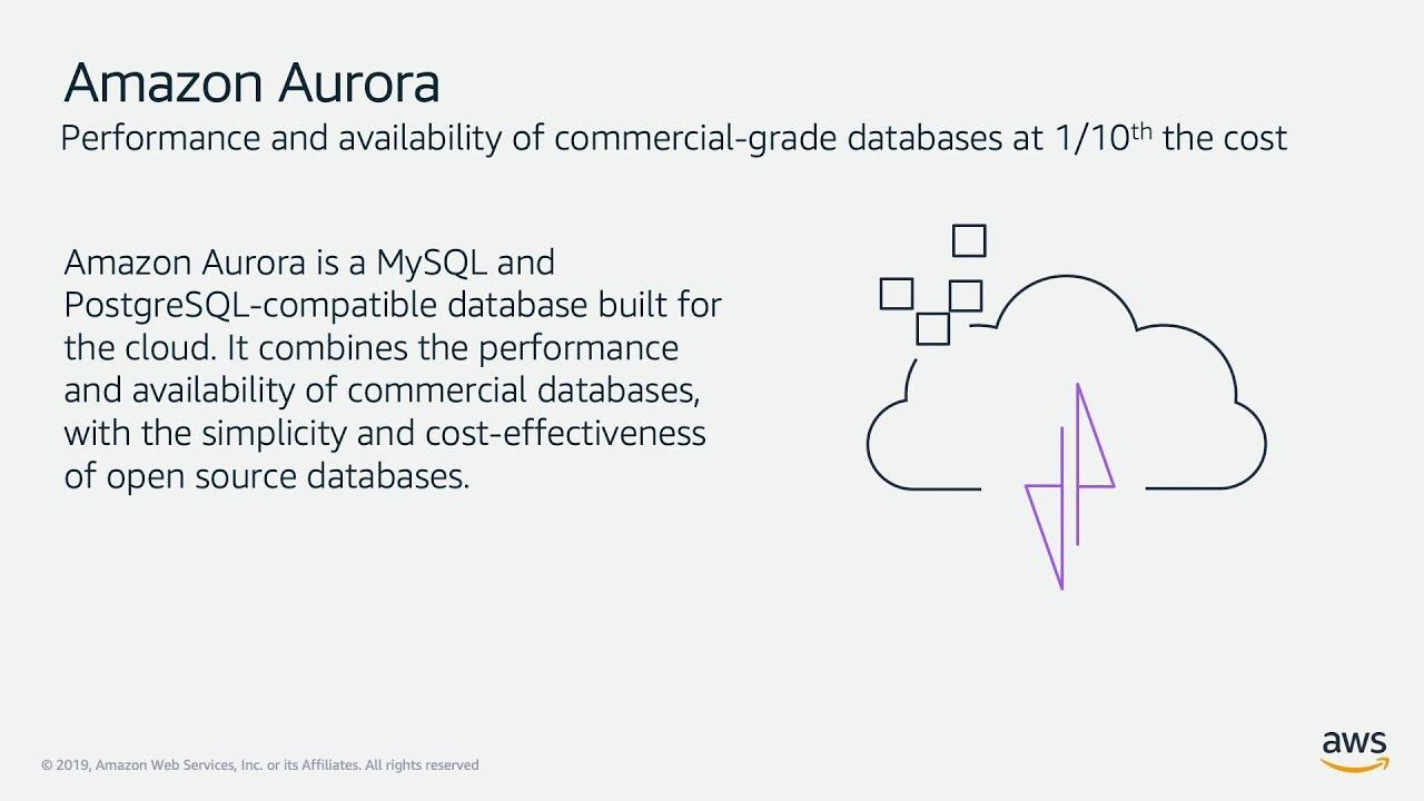 Achieve Database Freedom with Amazon Aurora