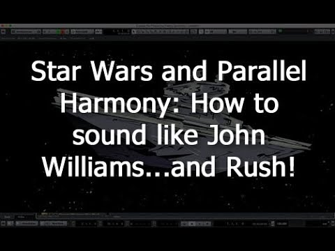 New tutorial: How to compose like John Williams