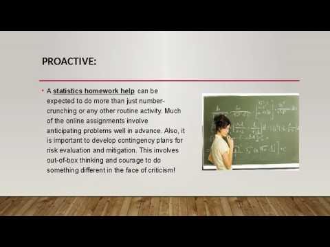 Statistics Homework Help | homework help online
