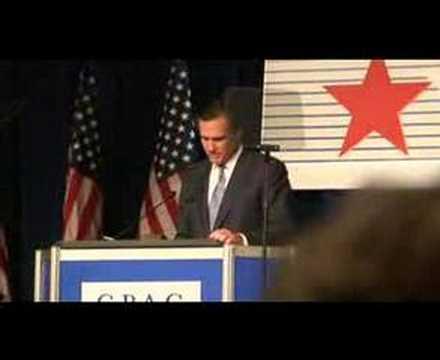 Mitt Romney Speech at CPAC: Part 6