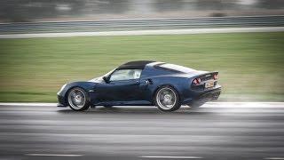 Ein paar Runden mit dem LOTUS Exige S Roadster auf der LOTUS-hausei...