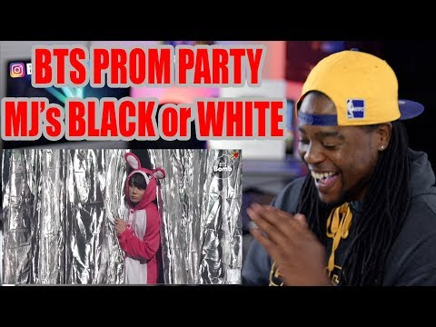 BTS PROM PARTY | UNIT STAGE - Black or White - BTS (방탄소년단) | REACTION!!!