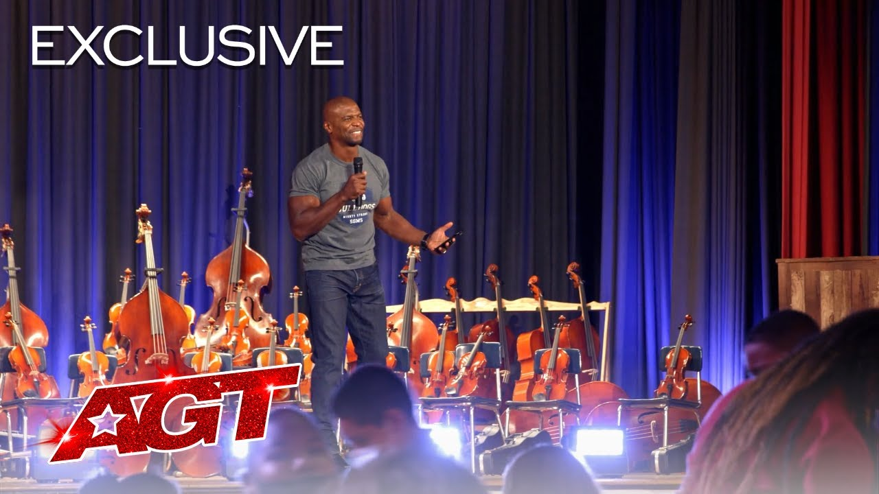 Terry Crews Delivers a HEARTWARMING Gift to Samuel Gompers Middle School - America's Got Talent 2021