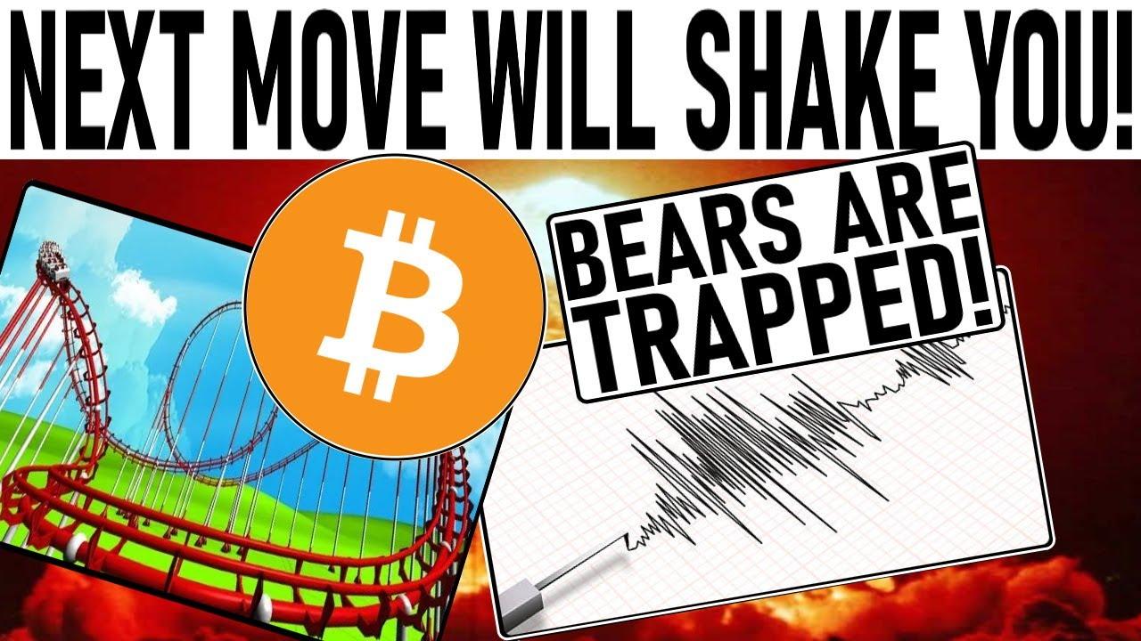 HOLD ON! NEXT BITCOIN MOVE WILL SHAKE YOU! MAJOR BTC NETWORK SCARE! VISA XRP NEWS!