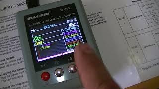 Небольшой обзор частотомера Surecom SF-103