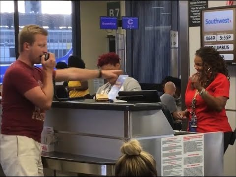 Life is a MESS, so why not some Hip Hop Airport KARAOKE to bring a few smiles for a few