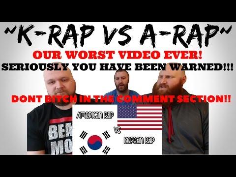 K-RAP VS AMERICAN RAP [PART 1]
