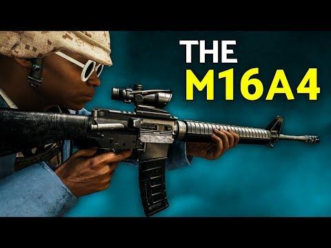 PUBG | The M16A4 Burst Mode is Amazing!  (M16A4 + KAR98K Gameplay)