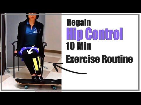 Hip Exercise: 10 min to walk better