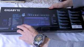 Gigabyte GK-KM6150 Unboxing [Ro]