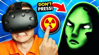 DON'T PRESS THE BUTTON Or Get Abducted By ALIENS (Please, Don't Touch Anything 3D VR Gameplay)
