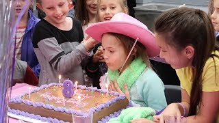 Addy's 8th Birthday!