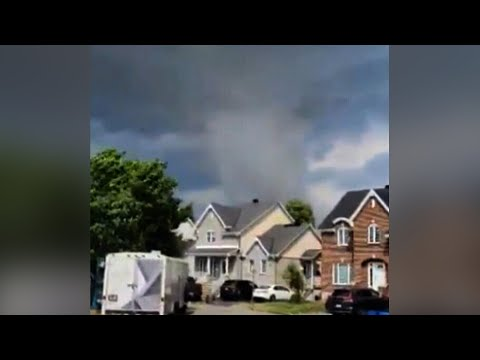At least one person is dead after tornado near Montreal
