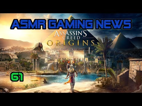 ASMR Gaming News (61) Assassin's Creed, Battlefront 2, Gran Turismo, Overwatch, Nintendo + More!