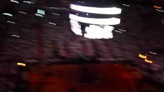 White Hot Miami Heat 2011 Playoffs First Game Intro