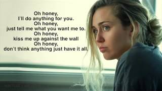On A Roll - Miley Cyrus - lyrics video || Black Mirror