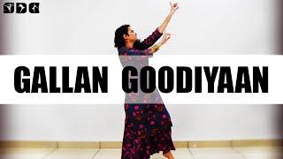 Easy Dance steps for Gallan Goodiyaan | Shipra's Dance Class