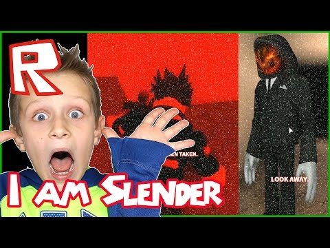 I am The Slender / Roblox Stop It Slender