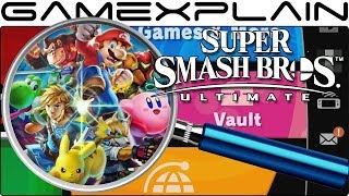 Super Smash Bros. Ultimate ANALYSIS - Main Menu & Dashboard Breakdown + Spirits?! (Nintendo Direct)