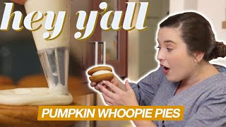 How To Make Pumpkin Whoopie Pies | Our Go-To Fall Dessert | Hey Y'all