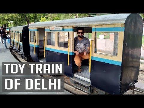 Toy Train of Delhi | National Rail Museum - New Delhi