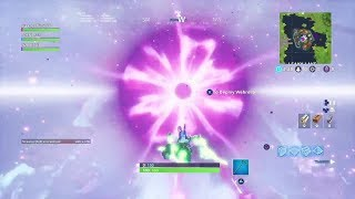 DID THE CUBE MAKE A SECRET BLACK HOLE?! (Fortnite Cube Event)