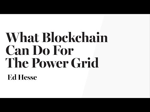 Blockchain Technology & The Power Grid