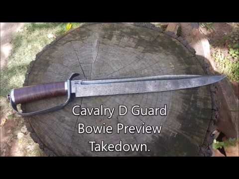 Cavalry bowie