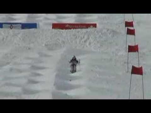 Mikael Kingsbury 14y.o. freestyle moguls ski