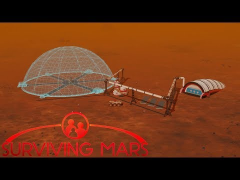 [4] Tunnel To The Mining Outpost | Surviving Mars