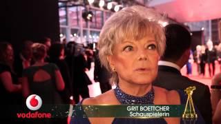 Grit Boettcher im Interview – GOLDENE KAMERA 2015