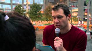 Billy on the Street: Quizzed in the Face in Columbus Circle