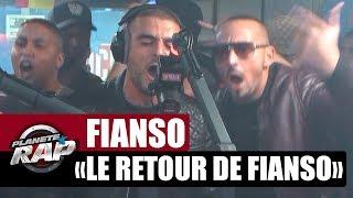 """[EXCLU] Fianso Feat. Hornet La Frappe """"Le retour de Fianso"""" #PlanèteRap"""