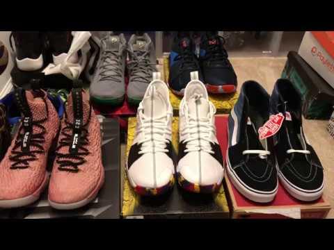 dcef8c1013f Footlocker Shopping Spree!!!🔥🔥💯✈ - YouTube