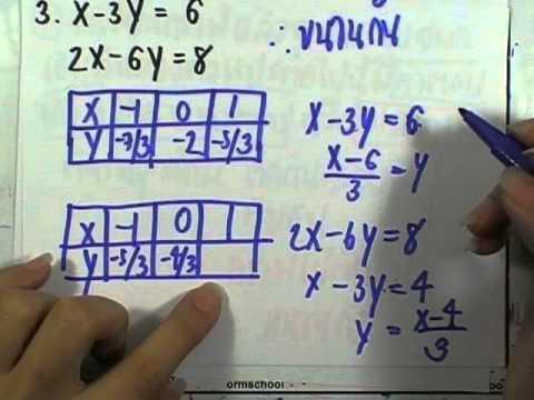เลขกระทรวง พื้นฐาน ม.3 เล่ม1 : แบบฝึกหัด3.1 ข้อ01