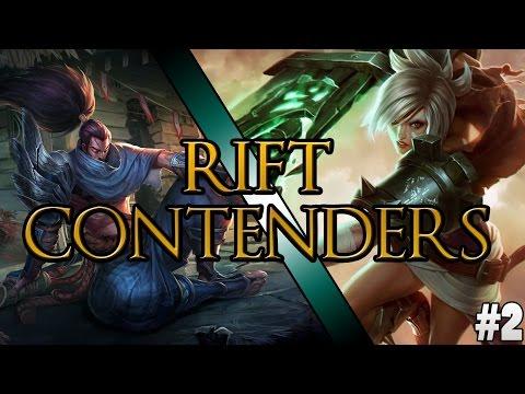 Hexakil - Rift Contenders #2 : Yasuo Vs. Riven