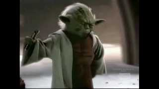"Yoda Sings ""I Believe I Can Fly"""