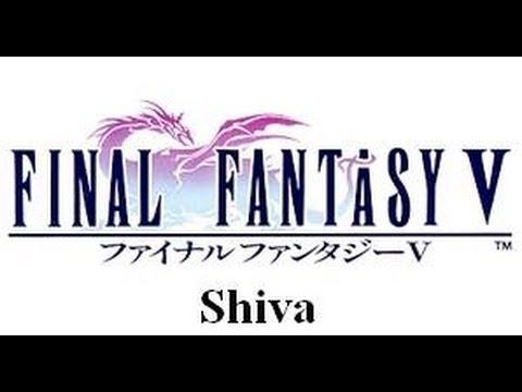 Final Fantasy V invocaciones: Shiva