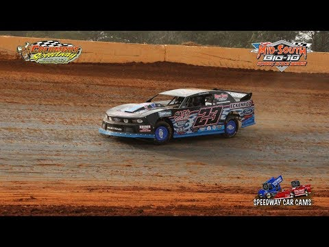 #23 Chad Winkler - Street Stock - 2-24-18 Columbus Speedway - In Car Camera