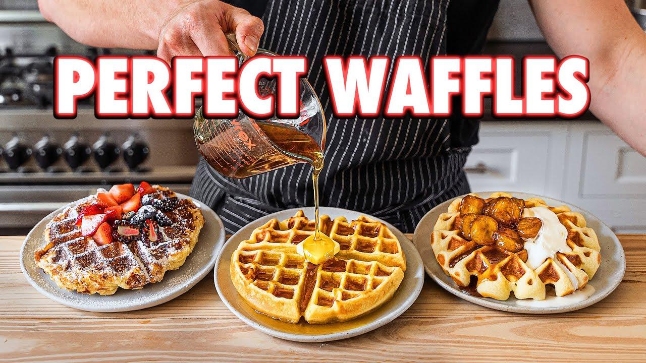 Perfect Homemade Waffles